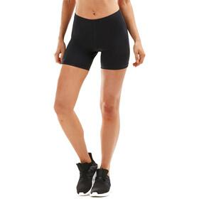 "2XU Aspire Comp 4"" Shorts Dames, black/silver"
